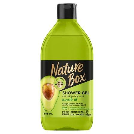 NATURE BOX Żel pod prysznic z olejem z awokado (1)