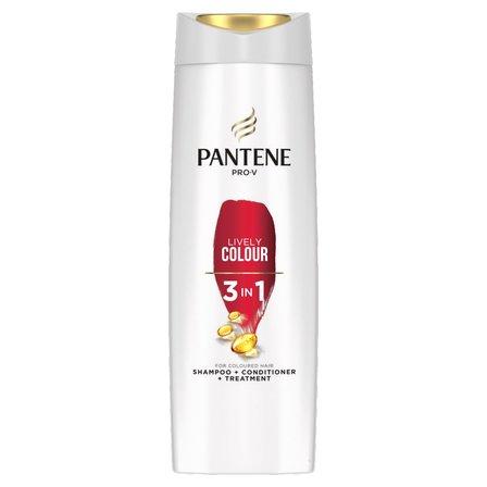 PANTENE Pro-V Lśniący Kolor 3w1 Szampon do włosów farbowanych (1)