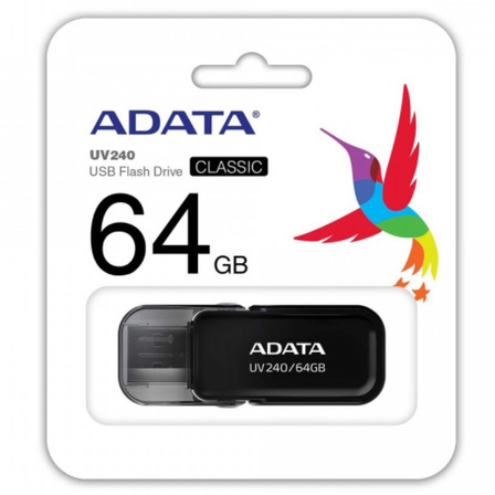 ADATA Pendrive 64GB USB 2.0 UV240 czarny (3)