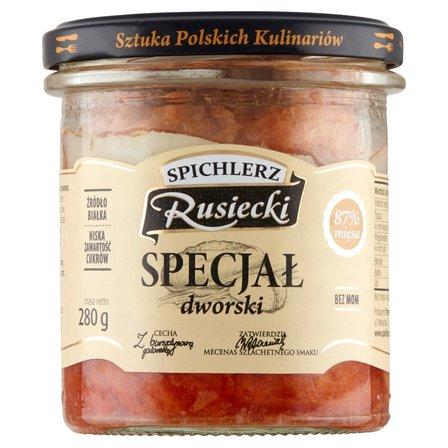 SPICHLERZ RUSIECKI Specjał dworski Konserwa wieprzowa (2)