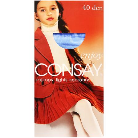 CONSAY Enjoy Rajstopy dziecięce roz. 134-140 niebieskie (1)