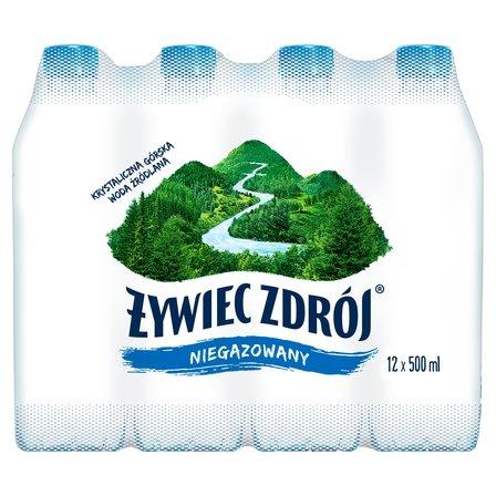 ŻYWIEC ZDRÓJ Niegazowany Woda źródlana (12 x 0,5 l) (1)
