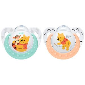 NUK Disney Kubuś Puchatek Silikonowy smoczek uspokajający (6-18 miesięcy) (2)