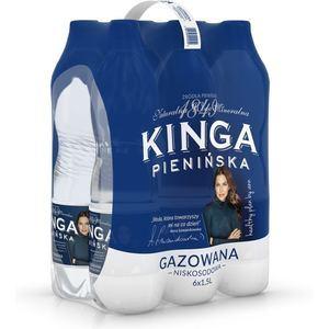 KINGA PIENIŃSKA Naturalna woda mineralna gazowana niskosodowa (6 x 1,5L) (1)
