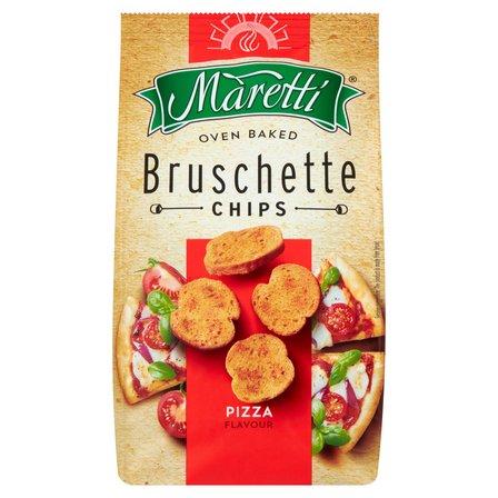 MARETTI Bruschette Pieczone krążki chlebowe o smaku pizzy (4)