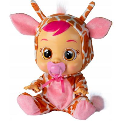 TM TOYS Cry Babies Płacząca lalka bobas Gigi Żyrafa 90194 (18m+) (2)