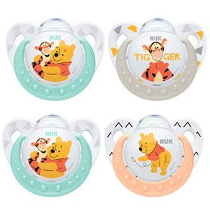 NUK Disney Kubuś Puchatek Silikonowy smoczek uspokajający (6-18 miesięcy) (1)