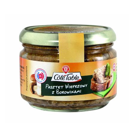 WIODĄCA MARKA Cote Table Pasztet wieprzowy z borowikami (1)