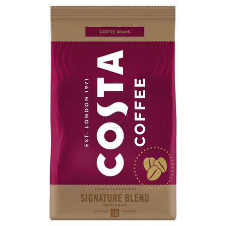COSTA COFFEE Signature Blend Dark Roast Kawa palona ziarnista (1)