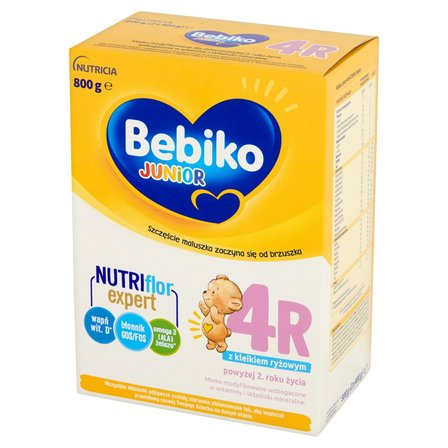 BEBIKO Junior 4R Mleko modyfikowane dla dzieci powyżej 2. roku (1)