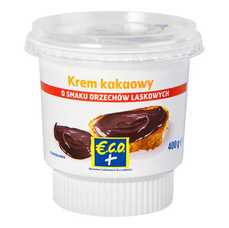ECO+ Krem kakaowy o smaku orzechów laskowych (1)