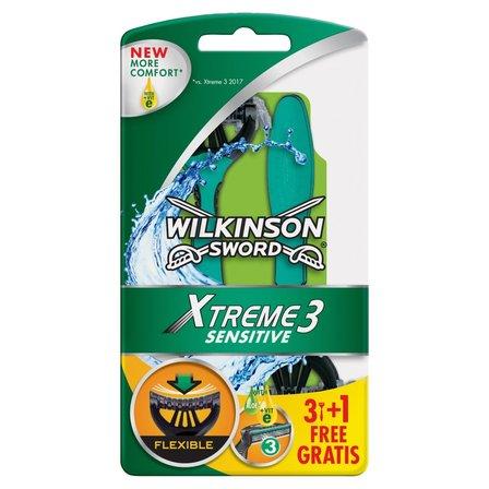 WILKINSON Sword Xtreme3 Sensitive Jednorazowe maszynki do golenia (1)