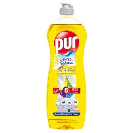 PUR Sekrety Kucharza Lemon Extra Płyn do mycia naczyń (1)