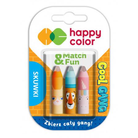 HAPPY COLOR Cool Gang Skuwki z gumką do długopisów wymazywalnych (2)