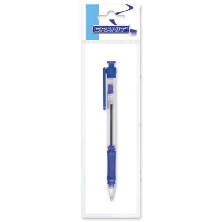 GRANIT Długopis automatyczny D590 niebieski (1)
