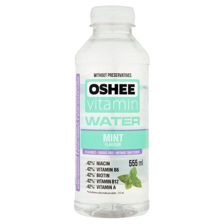 OSHEE Vitamin Water Napój niegazowany o smaku miętowym (1)