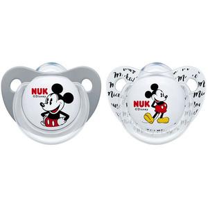 NUK Disney Myszka Miki Silikonowy smoczek uspokajający (0-6m) (3)