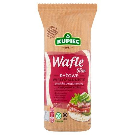 KUPIEC Slim Wafle ryżowe wieloziarniste (18 szt.) (1)