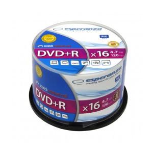ESPERANZA DVD+R 4,7GB 16X 50SZT CAKE (1)
