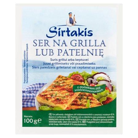 SIRTAKIS Ser na grilla lub patelnię z dodatkiem ziół (1)