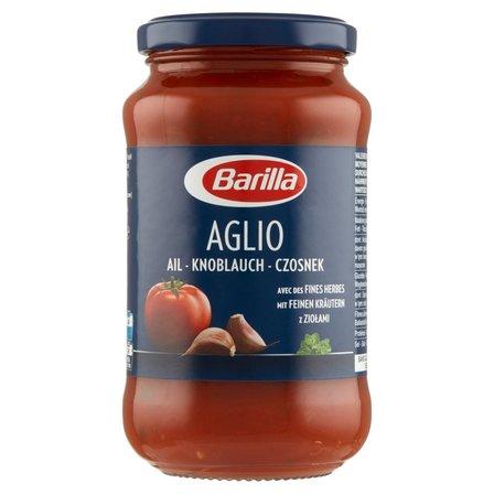 BARILLA Aglio Sos pomidorowy z czosnkiem, czerwonym winem i ziołami (2)