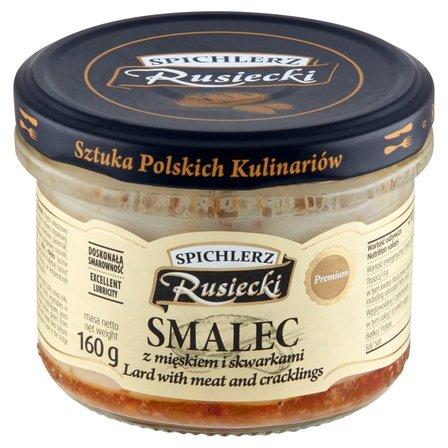 SPICHLERZ RUSIECKI Smalec z mięskiem i skwarkami (1)