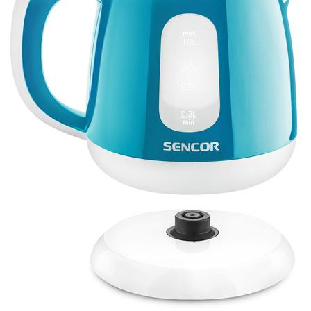 SENCOR Czajnik elektryczny 1L SWK1017TQ niebieski (6)