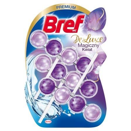 BREF WC DeLuxe Zawieszka toaletowa magiczny kwiat (3 x 50 g) (1)