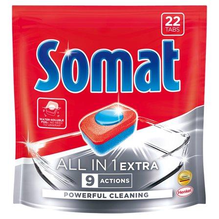 SOMAT All in 1 Extra Tabletki do mycia naczyń w zmywarkach (1)