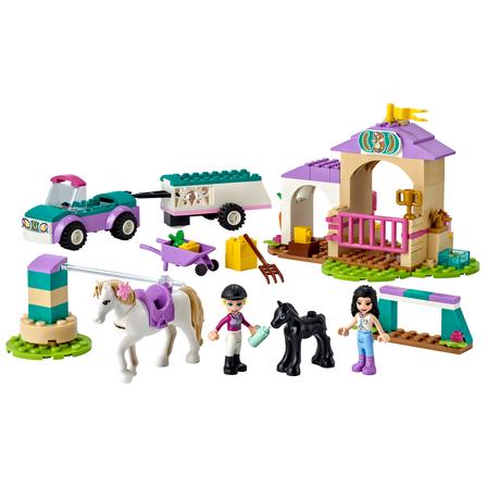 LEGO Friends Szkółka jeździecka i przyczepa dla konia 41441 (4+) (2)