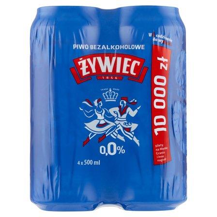ŻYWIEC Piwo jasne bezalkoholowe (4 x 500 ml) (2)