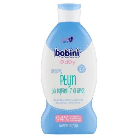 BOBINI Baby Lipidowy płyn do kąpieli z oliwką (1)