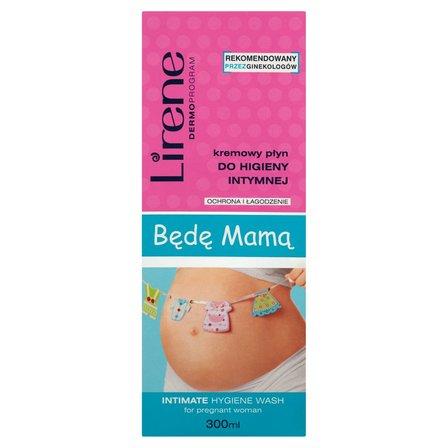 LIRENE Dermoprogram Będę Mamą Kremowy płyn do higieny intymnej (2)
