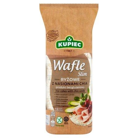 KUPIEC Slim Wafle ryżowe z nasionami chia (18 sztuk) (1)
