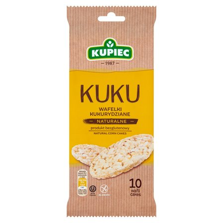 KUPIEC Kuku Wafelki kukurydziane naturalne (10 sztuk) (1)