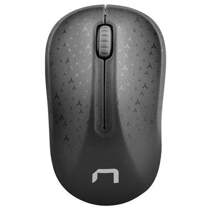 NATEC Mysz bezprzewodowa Toucan czarno-szara (2)