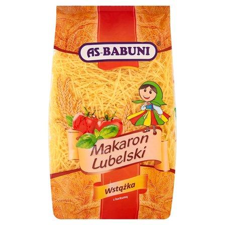 AS-BABUNI Makaron Lubelski wstążka z kurkumą (2)