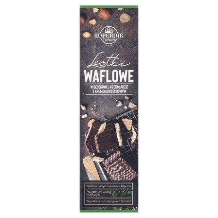 KOPERNIK Listki waflowe w deserowej czekoladzie z kremem orzechowym (2)