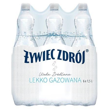 ŻYWIEC ZDRÓJ Woda źródlana lekko gazowana (6 x 1,5 l) (1)