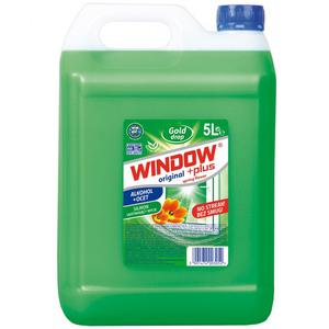 GOLD DROP Window Plus Płyn do mycia szyb i luster (1)