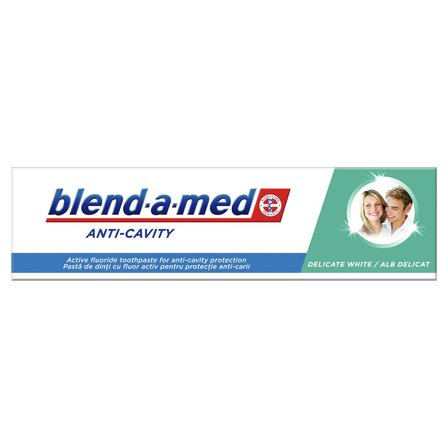 BLEND-A-MED Anti-Cavity Delicate White Pasta do zębów (3)