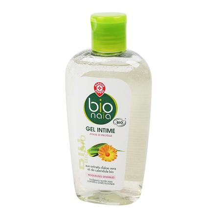 WIODĄCA MARKA Bio Naia Ekologiczny żel do higieny intymnej z ekstraktem z aloesu i nagietka (1)