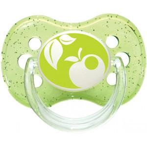 CANPOL BABIES Smoczek silikonowy okrągły 0-6m (2)