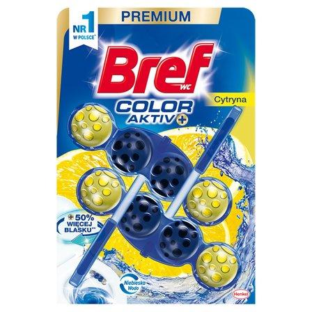 BREF WC Color Aktiv Zawieszka do muszli WC cytryna (2x50g) (1)