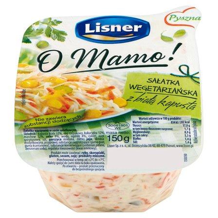 LISNER O Mamo! Sałatka wegetariańska z białą kapustą (1)