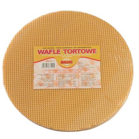 MALEKS Wafle tortowe okrągłe (4 szt.) (1)