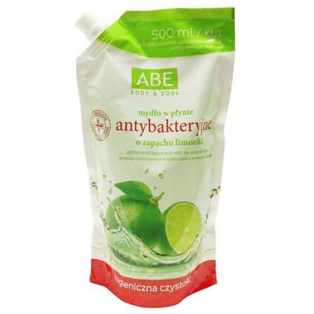 ABE Mydło w płynie antybakteryjne o zapachu limonki (1)