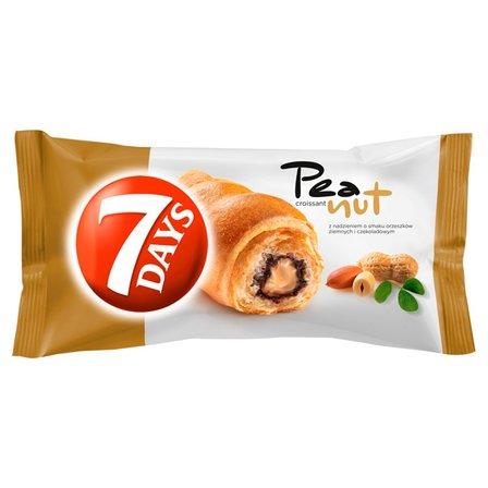 7 DAYS Croissant z nadzieniem z orzeszków ziemnych i kakaowym (1)