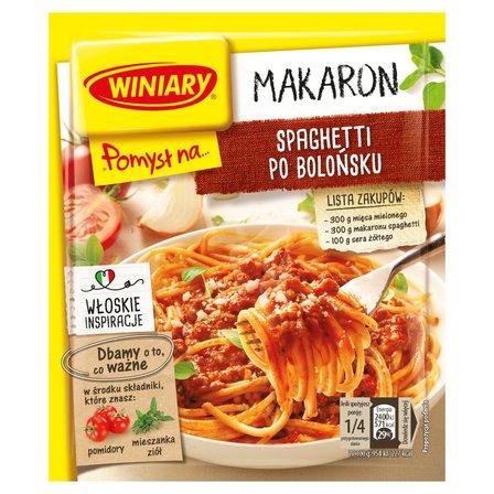 WINIARY Pomysł na... Makaron spaghetti po bolońsku (1)