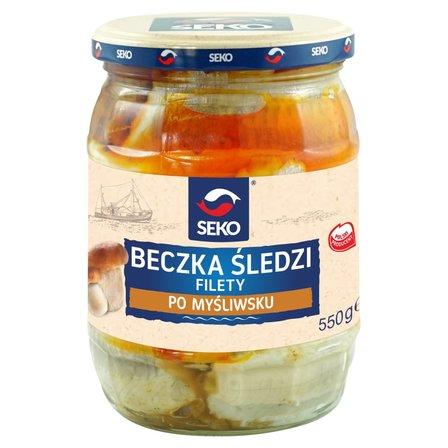 SEKO Beczka śledzi Filety po myśliwsku (1)